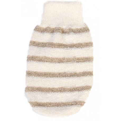 Organic Cotton & Linen Massage Glove | Γάντι Μασάζ με Βιολογικό Βαμβάκι & Λινό