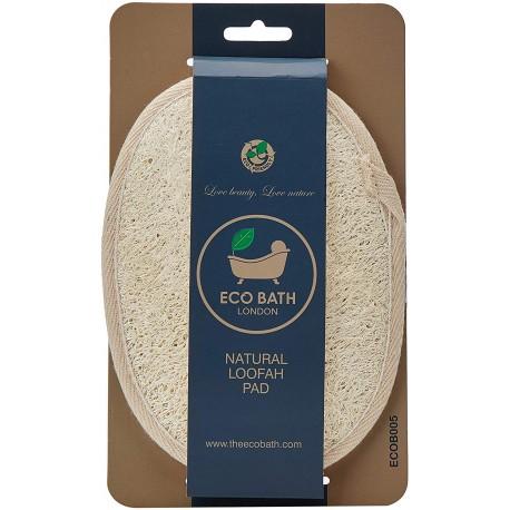Σφουγγαράκι-δίσκος μπάνιου από φυσική λούφα   Natural Loofah Pad