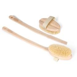 Βούρτσα σώματος με φυσική τρίχα | Natural Bristle Body Brush (soft)