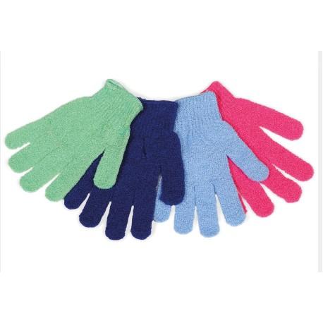 Γάντια απολέπισης σώματος   Exfoliating Body Gloves