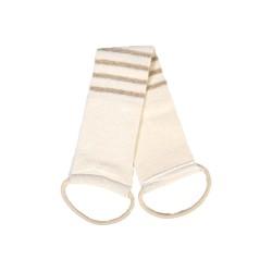 Λουρίδα πλάτης βιολογικού βαμβακιού και λινό | Organic Cotton & Linen Back Strap