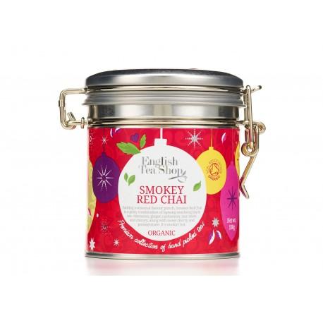 Org. Smokey Red Chai - 100g Loose Tea in Clip Tin | 100 gr Χύμα