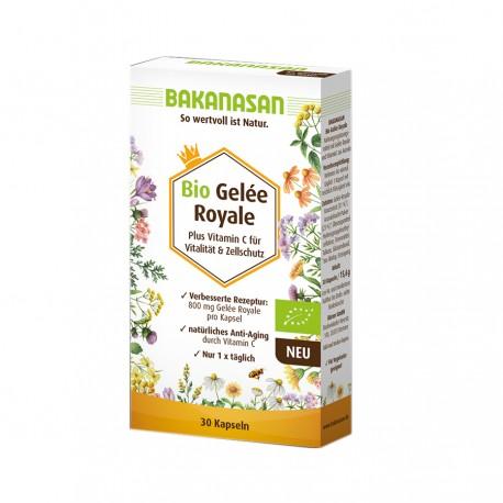 Βιολογικός Βασιλικός Πολτός | Bio Gelée Royale 800 mg | 30 caps
