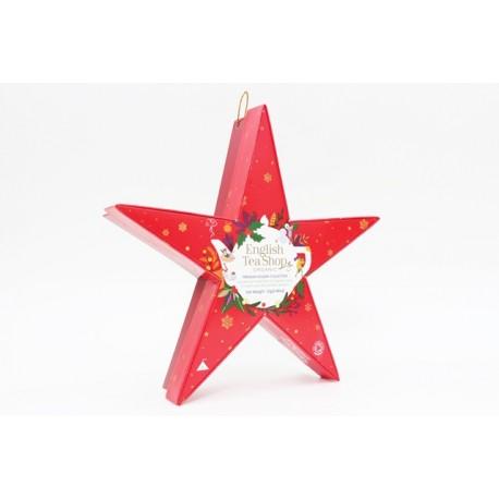 Συλλογή Χριστουγέννων | Holiday Collection Organic Red Star | 6 πυραμίδες.