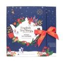 Συλλογή Χριστουγέννων | Book Style Christmas Night Advent Calendar Blue - 25 Tea Bag | 25 φακελάκια