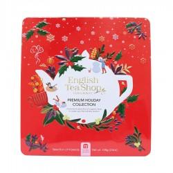 Συλλογή Χριστουγέννων | Premium Holiday Collection Red Gift Tin72 Tea Bag | 72 φακελάκια