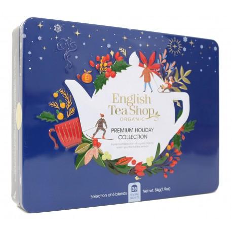 Συλλογή Χριστουγέννων | Premium Holiday Collection Blue Gift Tin 36 Tea Bag | 36 φακελάκια