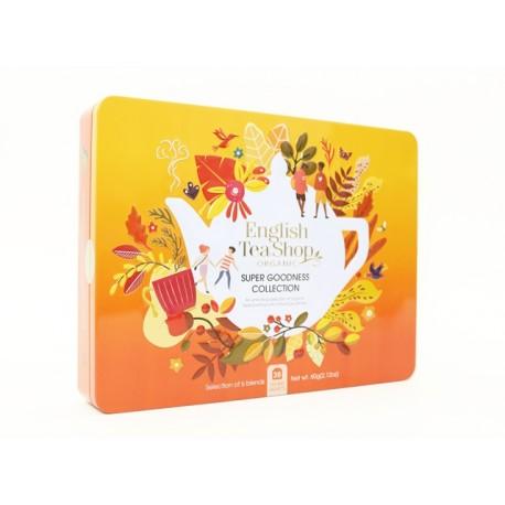 Συλλογή Χριστουγέννων | Super Goodness Collection Gift Tin 36 Tea Bag | 36 φακελάκια