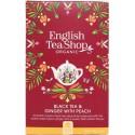 Μαύρο Τσάι με Τζίντζερ και Ροδάνικο | Black Tea & Ginger with Peach | 20 φακ.