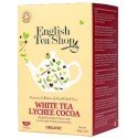 Βολογικό Ασπρό Τσάι με Λίτσι & Κακάο | White Tea Lychee Cocoa | 20φακ.