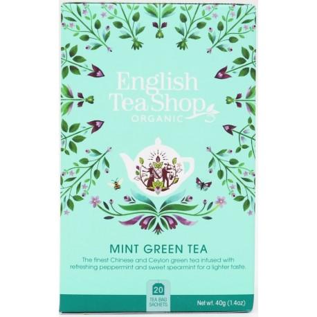 Πράσινο Τσάι με Μέντα | Mint Green Tea | 20 φακ.