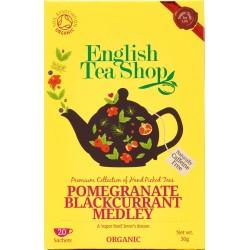 Οργανικό Τσάι Ρόδι & Μαύρο Φραγκοστάφυλο | Org. Pomegranate Blackcurrant Medley