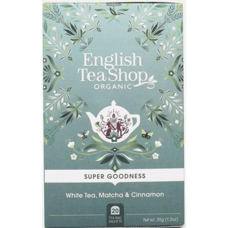 Βιολογικό Τσάι - Λευκό Τσάι, Matcha & Κανέλα | Org. White Tea, Matcha & Cinnamon | 20 Φακ.