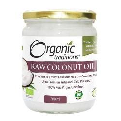 Βιολογικό Λάδι Καρύδας | Organic Raw Coconut oil | 500ml