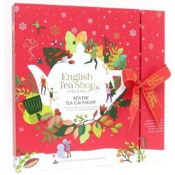 Συλλογή Χριστουγέννων | Org. Book Style Red Advant Calendar | 25 Φακελάκια