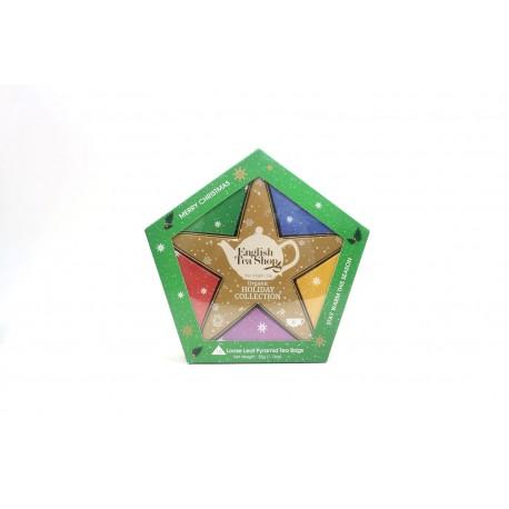 Συλλογή Χριστουγέννων   Org. Holiday Collection Organic Gold Star  16 Φακελάκια