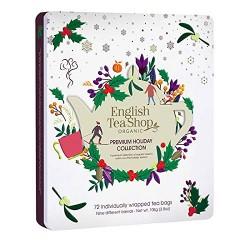Συλλογή Χριστουγέννων | Premium Holiday Collection White Gift Tin 72 Tea Bag | 72 φακελάκια