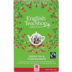 Πράσινο Τσάι & Ρόδι | Org FT. Green Tea Pomegranate