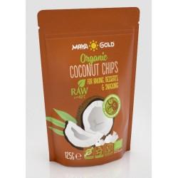 Βιολογικά Τσιπς Καρύδας | Coconut Raw Chips Organic | 125gr