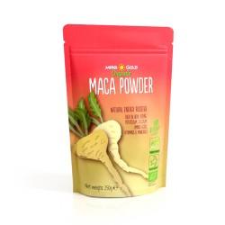 Βιολογική Ακατέργαστη Σκόνη Μάκα | Organic Raw Maca Powder | 250gr