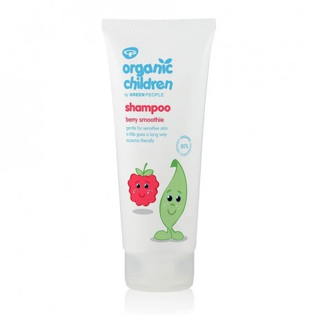 Παιδικό Σαμπουάν με Σμούθι Μούρων   Organic Children Shampoo - Berry Smoothie   200ml