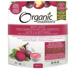 Βιολογικό Λάττε με Παντζάρι & Προβιοτικά | Organic Beet Latte with Fermented Beets and Probiotics | 150gr